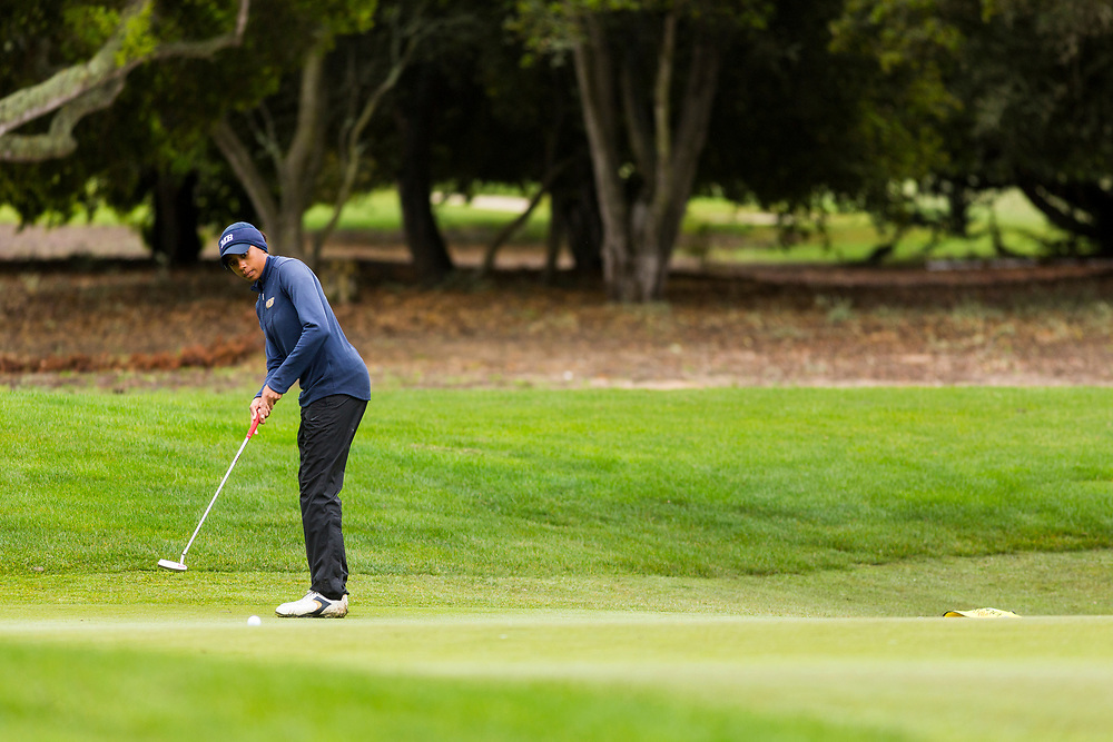 Action from the second day of the CSU Monterey Bay's Otter Invite on Tuesday, March 21, 2017, at Bayonet and Black Horse golf course. (Nick Gonzales/NickGphotos.com for CSUMB)