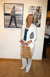 SANDRA HOWARD at an exhibition of photographs by Robin Douglas-Home entitled 'The Sixties Set' held at The Air Gallery, 32 Dover Street, London W1 on 28th June 2005.<br />
