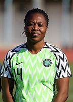 International Women's Friendly Matchs 2019 / <br /> Womens's Cyprus Cup Tournament 2019 - <br /> Nigeria v Thailand 3-0 ( Tasos Marko Stadium - Paralimni,Cyprus ) - <br /> Faith Ikidi Michael of Nigeria