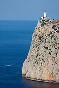 The lighthouse at Cap de Formentor.