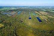 Nederland, Noord-Brabant, Gemeente Deurne, 23-08-2016; Deurnsche Peel, tussen Helenaveen en Griendtsveen. Kanaal van Deurne.<br /> Region of the Peel, former peat bog.<br /> aerial photo (additional fee required); <br /> luchtfoto (toeslag op standard tarieven);<br /> copyright foto/photo Siebe Swart