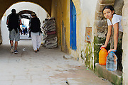 The white streets of Essaouira
