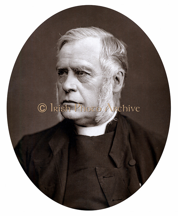 James Atlay (1817-1894) English cleric. Bishop of Hereford 1868-1894. Photograph published 1877. Woodburytype