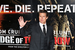 © Licensed to London News Pictures. 28/05/2014, UK. Tom Cruise, Edge of Tomorrow - World Film Premiere, BFI IMAX, London UK, 28 May 2014. Photo credit : Richard Goldschmidt/Piqtured/LNP