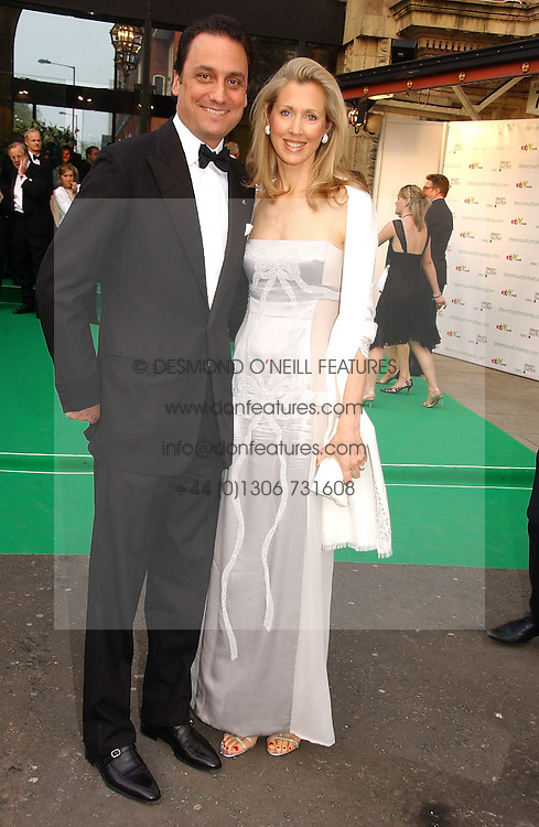 COUNT &amp; COUNTESS ALLESANDRO GUERRINI-MARALDI at the NSPCC's Dream Auction held at The Royal Albert Hall, London on 9th May 2006.<br />