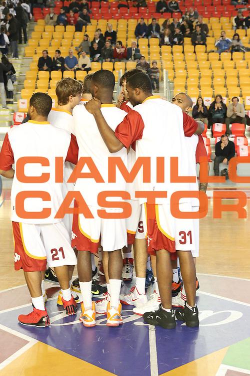 DESCRIZIONE : Roma Lega A 2012-13 Acea Roma Banco di Sardegna Sassari<br /> GIOCATORE : team<br /> CATEGORIA : pre game<br /> SQUADRA : Acea Roma<br /> EVENTO : Campionato Lega A 2012-2013 <br /> GARA : Acea Roma Banco di Sardegna Sassari<br /> DATA : 23/12/2012<br /> SPORT : Pallacanestro <br /> AUTORE : Agenzia Ciamillo-Castoria/M.Simoni<br /> Galleria : Lega Basket A 2012-2013  <br /> Fotonotizia :  Roma Lega A 2012-13 Acea Roma Banco di Sardegna Sassari<br /> Predefinita :