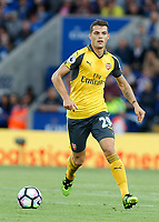 Football - 2016/2017 Premier League - Leicester Ciity V Arsenal. <br /> <br /> Granit Xhaka of Arsenal at The King Power Stadium.<br /> <br /> COLORSPORT/DANIEL BEARHAM