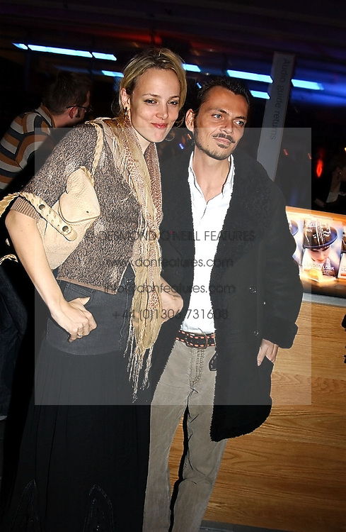 BAY GARNETT and fashion designer MATTHEW WILLIAMSON at the launch party for 'The London Look - Fashion From Street to Catwalk' held at the Museum of London, London Wall, Londom EC2 on 28th October 2004<br /><br />NON EXCLUSIVE - WORLD RIGHTS