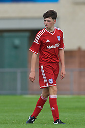 NEWPORT, WALES - Wednesday, August 3, 2016: South Wales Academy Boys' Connor O'Sullivan during the Welsh Football Trust Cymru Cup 2016 at Newport Stadium. (Pic by Ian Cook/Propaganda)