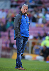 Robbie Fleck, head coach of the DHL Stormers during the Vodacom Super Rugby match between the DHL Stormers and the Emirates Lions at DHL Newlands in Cape Town, South Africa, Saturday May 26 2018. <br /> (Roger Sedres/ANA)