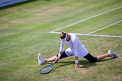 LIVERPOOL, ENGLAND - Saturday, June 23, 2018: Vera Zvonareva (RUS) during day three of the Williams BMW Liverpool International Tennis Tournament 2018 at Aigburth Cricket Club. (Pic by Paul Greenwood/Propaganda)
