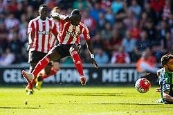 Southampton's Sadio Maneshot is wide - Mandatory by-line: Jason Brown/JMP - 07966 386802 - 26/09/2015 - FOOTBALL - Southampton, St Mary's Stadium - Southampton v Swansea City - Barclays Premier League