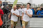 2019, April 17. IJFC, IJsselstein, The Netherlands. Glenn Helder and Niek Roozen at Creators FC - IJFC Legends.