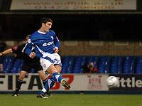 Photo: Ashley Pickering.<br />Ipswich Town v Preston North End. Coca Cola Championship. 17/10/2006.<br />John Macken scores a penalty for Ipswich