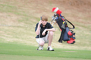 Oxford High golfer Ward Toler at Oxford Country Club on Thursday, April 8, 2010.