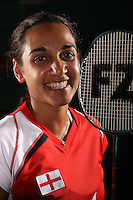 Mariana Agathangelou England Badminton, World Championships Photoshoot, NBC, Milton Keynes, England, 2011