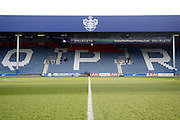 An empty Loftus Road stadium before the Sky Bet Championship match between Queens Park Rangers and Middlesbrough at the Loftus Road Stadium, London, England on 1 April 2016. Photo by Andy Walter.