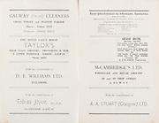 20th September 1959 All Ireland Senior Hurling Championship Semi-Final Programme