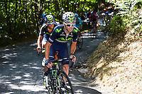 Giovanni Visconti - Movistar - 28.05.2015 - Tour d'Italie - Etape 18 : Melide / Verbania <br />Photo : Pool / Sirotti / Icon Sport