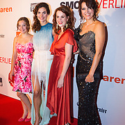 NLD/Scheveningen/20130909 -  Filmpremiere Smoorverliefd, Beatrice Hillen, Anna Drijver. Anna Raadsveld, Susan Visser