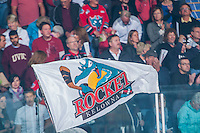 KELOWNA, CANADA - MAY 13:  on May 13, 2015 during game 4 of the WHL final series at Prospera Place in Kelowna, British Columbia, Canada.  (Photo by Marissa Baecker/Shoot the Breeze)  *** Local Caption ***