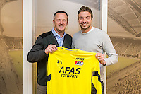 WIJDEWORMER - 31-01-2017, Tim Krul contract AZ, AFAS trainingscomplex,