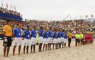 Football-FIFA Beach Soccer World Cup 2006 - Group A-Brasil - Poland, Beachsoccer World Cup 2006. Brasil`s once team - Rio de Janeiro - Brazil 03/11/2006 <br /> Mandatory credit: FIFA/ Manuel Queimadelos