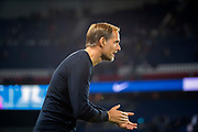 Thomas TUCHEL (PSG) reacts during the French Championship Ligue 1 football match between Paris Saint-Germain and AS Saint-Etienne on September 14, 2018 at Parc des Princes stadium in Paris, France - Photo Stephane Allaman / ProSportsImages / DPPI