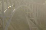 Bridge, fog, mist, Oregon Coast Highway, Pacific Coast Highway, Highway 101, Oregon Coast, Oregon