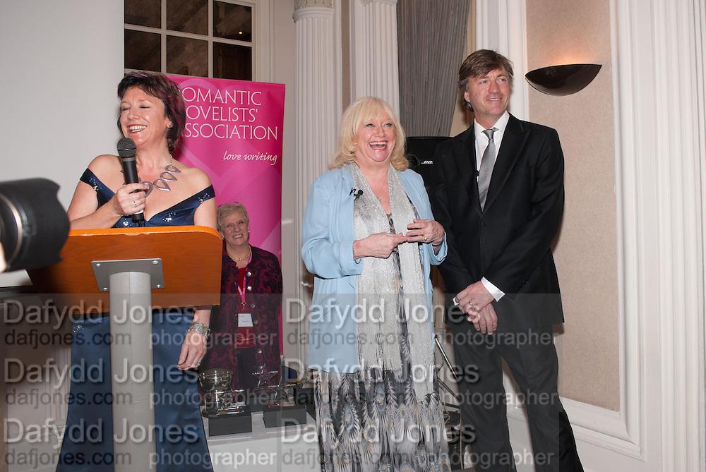 JUDY FINNIGAN; RICHARD MADELEY, Romantic Novelists Association The RoNas Awards - RICHARD MADELEY & JUDY FINNIGAN - ballroom of the RAF Club, 128 Piccadilly, London. 26 February 2013