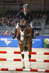 Kapteyn Richard (NED) - Forsyth<br /> KWPN Stallion Selection - 's Hertogenbosch 2014<br /> © Dirk Caremans