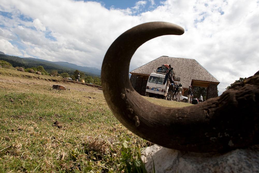 Location: Mont Kenya (Kenya) Urge Kenya 09/ The ultimate Mountain Bike gravity adventure at Mont-Kenya