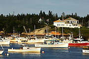 COREA, ME - July 23:  View of a a classic Downeast Maine fishing village on July 23, 2010 in COREA, ME. Corea, Maine located in Hancock County on the southeastern part of the Gouldsboro Peninsula was originally called Indian Harbor.  (Photo by Michael Bocchieri/Bocchieri Archive)