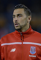 Stoke City's Geoff Cameron during the Capital One Cup, third round match at Craven Cottage, London.