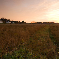 The Surrenden Farm at Sunrise.  Groton, MA.