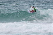 Coral Schuster (USA) during the Boardmasters WSL Women's Roxy Pro Surf Championships at Fistral Beach,  Newquay, Cornwall, United Kingdom on 9 August 2019.