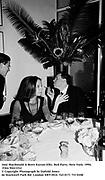 Joni Macdonald & Brett Easton Ellis. Red Party. New York. 1994. Film 94411f12<br />© Copyright Photograph by Dafydd Jones<br />66 Stockwell Park Rd. London SW9 0DA<br />Tel 0171 733 0108