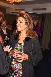 Carol Sopher at the third annual Fortnum's x Frank exhibition at Fortnum & Mason, 181 Piccadilly, London, UK on September 12, 2018.<br /> 12 September 2018.