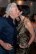 ABY ROSEN; GHISLAINE MAXWELL, Dom PŽrignon with Alex Dellal, Stavros Niarchos, and Vito Schnabel celebrate Dom PŽrignon Luminous. W Hotel Miami Beach. Opening of Miami Art Basel 2011, Miami Beach. 1 December 2011. .<br /> ABY ROSEN; GHISLAINE MAXWELL, Dom Pérignon with Alex Dellal, Stavros Niarchos, and Vito Schnabel celebrate Dom Pérignon Luminous. W Hotel Miami Beach. Opening of Miami Art Basel 2011, Miami Beach. 1 December 2011. .