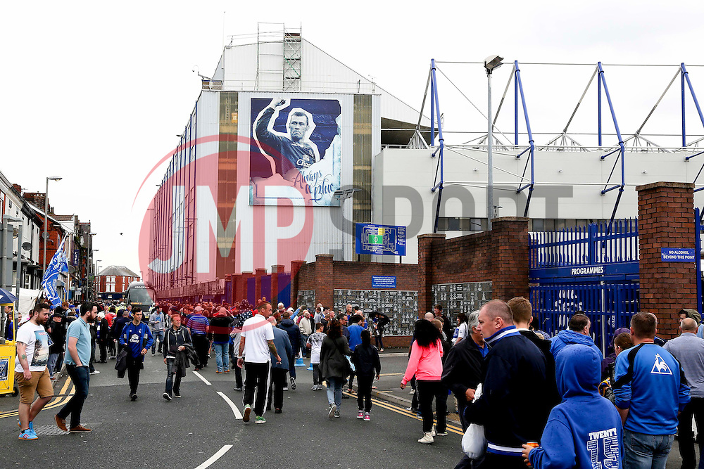A general view of Goodison Park ahead of Duncan Ferguson's testimonial match against Villareal  - Mandatory by-line: Matt McNulty/JMP - 02/08/2015 - SPORT - FOOTBALL - Liverpool,England - Goodison Park - Everton v Villareal - Pre-Season Friendly