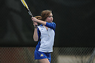 Oxford's Ann Marie Edlin vs. Saltillo in high school tennis in Oxford, Miss. on Thursday, March 10, 2011.