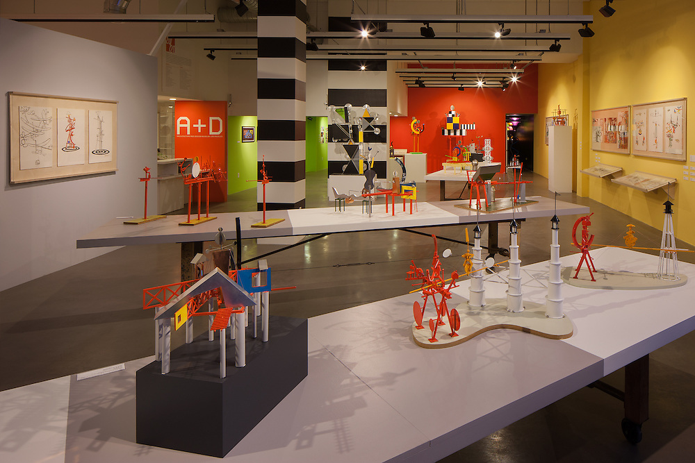 A+D Museum Peter Shire  -  Photography by Tom Bonner  -  Job ID 6073