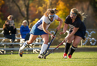 GHS Field Hockey versus Profile October 18, 2013.  Karen Bobotas/for the Laconia Daily Sun
