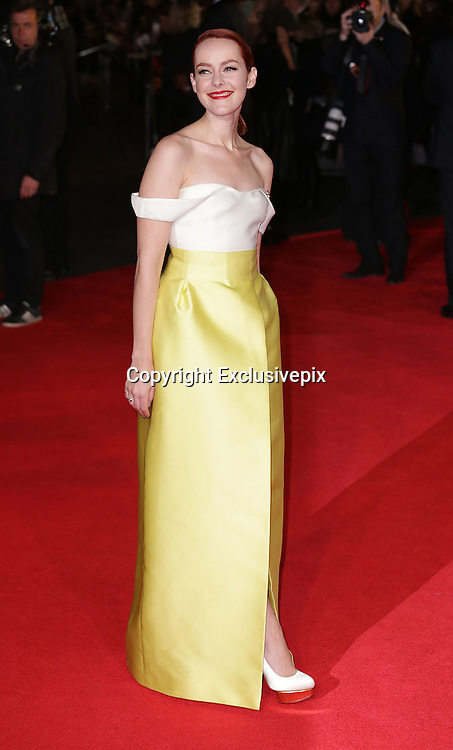 "Nov 10, 2014 - ""The Hunger Games: Mockingjay Part 1""  World Premiere at Odeon Leicester Square, London<br /> <br /> Pictured: Jena Malone<br /> ©Exclusivepix"