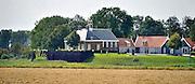 Nederland, Schokland, 30-6-2012Het voormalige eiland schokland staat op de werelderfgoed lijst.The former island of Schokland. UNESCO World Heritage Site. Mound of Middelbuurt. Terp Middelbuurt.Foto: Flip Franssen/Hollandse Hoogte