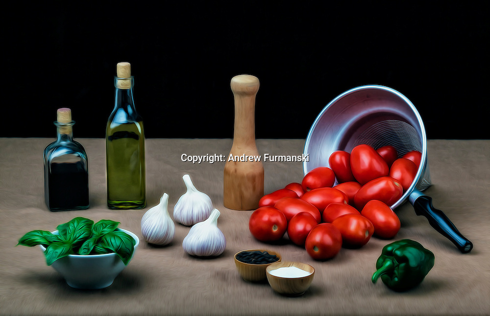 Getting Ready for Pasta Sauce