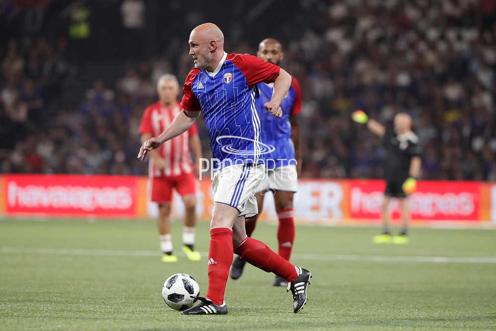 Frank Leboeuf (France 98) during the 2018 Friendly Game football match between France 98 and FIFA 98 on June 12, 2018 at U Arena in Nanterre near Paris, France - Photo Stephane Allaman / ProSportsImages / DPPI