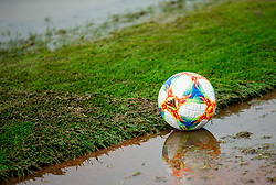 Ball during football match between NK Triglav Kranj and NK Domzale in 35th Round of Prva liga Telekom Slovenije 2018/19, on May 22nd, 2019, in Sports park Kranj, Slovenia. Photo by Vid Ponikvar / Sportida