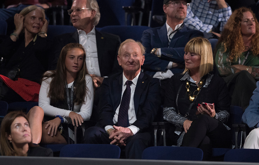 Day four of the Laver Cup at the O2 Arena in Prague on Friday, September 22, 2017.<br /> (Ben Solomon/Laver Cup)