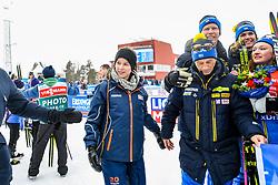 March 16, 2019 - –Stersund, Sweden - 190316 Amanda Lind, Swedish minister of Sport, after  the Women's 4x6 km Relay during the IBU World Championships Biathlon on March 16, 2019 in Östersund..Photo: Petter Arvidson / BILDBYRÃ…N / kod PA / 92268 (Credit Image: © Petter Arvidson/Bildbyran via ZUMA Press)